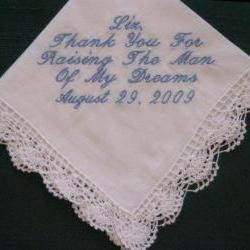 Mother of the Groom Hanky with Gift Box 14S